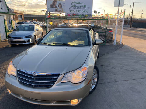 2010 Chrysler Sebring for sale at GO GREEN MOTORS in Denver CO