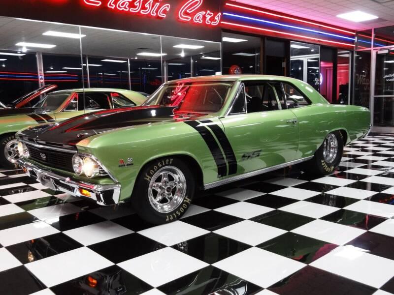 1966 Chevrolet Chevelle for sale at Wagner's Classic Cars in Bonner Springs KS