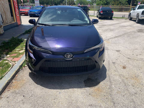 2020 Toyota Corolla for sale at Dulux Auto Sales Inc & Car Rental in Hollywood FL