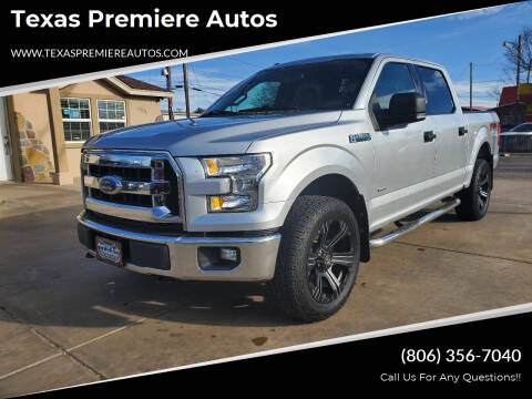 2015 Ford F-150 for sale at Texas Premiere Autos in Amarillo TX