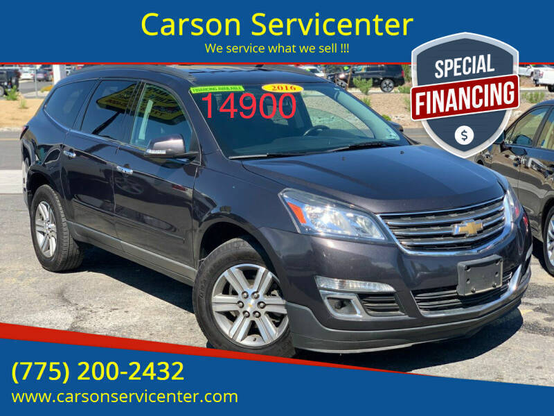 2016 Chevrolet Traverse for sale at Carson Servicenter in Carson City NV