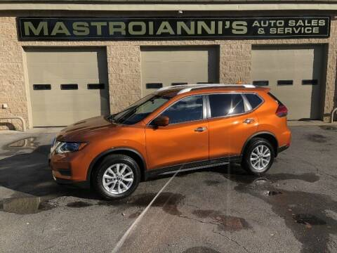 2017 Nissan Rogue for sale at Mastroianni Auto Sales in Palmer MA