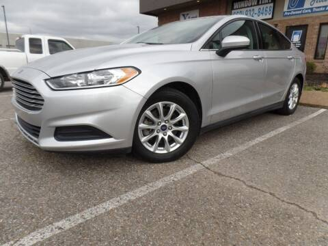 2015 Ford Fusion for sale at Flywheel Motors, llc. in Olive Branch MS