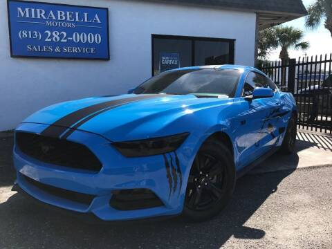 2017 Ford Mustang for sale at Mirabella Motors in Tampa FL