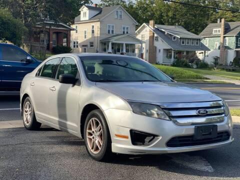 2012 Ford Fusion for sale at MZ Auto in Winchester VA