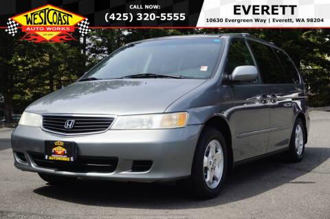 2001 Honda Odyssey for sale at West Coast Auto Works in Edmonds WA