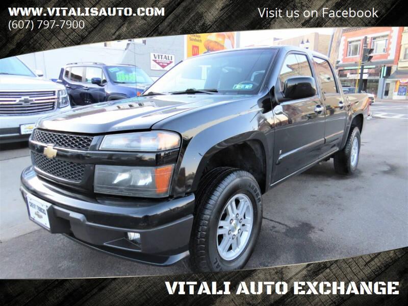 2009 Chevrolet Colorado for sale at VITALI AUTO EXCHANGE in Johnson City NY