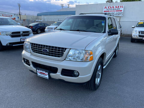 2005 Ford Explorer for sale at Adams Auto Sales in Sacramento CA
