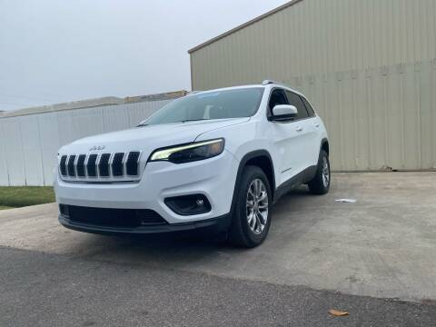 2019 Jeep Cherokee for sale at ALL STAR MOTORS INC in Houston TX