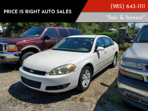 2006 Chevrolet Impala for sale at Price Is Right Auto Sales in Slidell LA