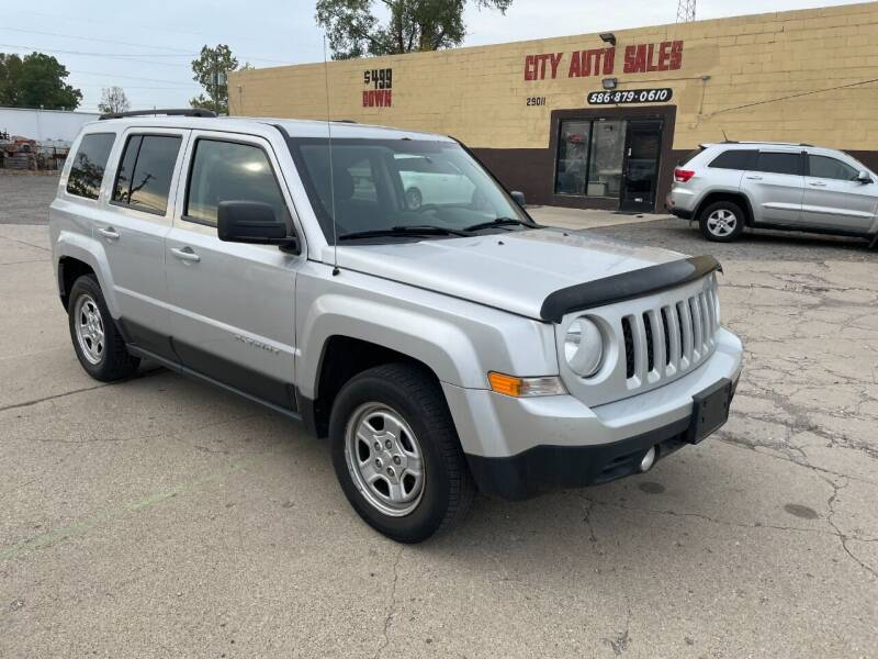 2013 Jeep Patriot for sale at City Auto Sales in Roseville MI
