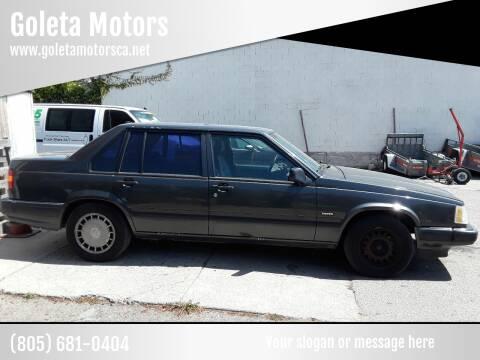 1992 Volvo 940 for sale at Goleta Motors in Goleta CA