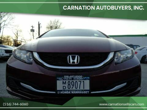 2015 Honda Civic for sale at CarNation AUTOBUYERS, Inc. in Rockville Centre NY