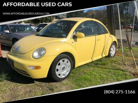 2003 Volkswagen New Beetle for sale at AFFORDABLE USED CARS in Richmond VA