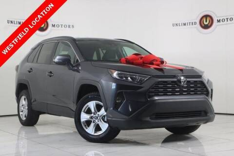 2020 Toyota RAV4 for sale at INDY'S UNLIMITED MOTORS - UNLIMITED MOTORS in Westfield IN