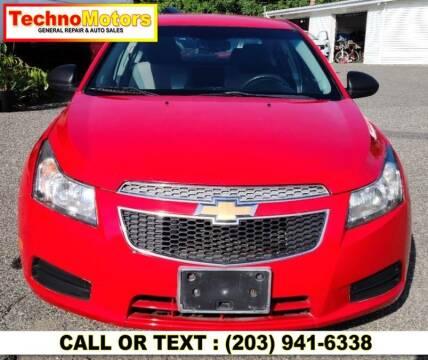 2014 Chevrolet Cruze for sale at Techno Motors in Danbury CT