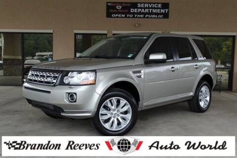2014 Land Rover LR2 for sale at Brandon Reeves Auto World in Monroe NC