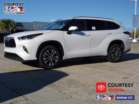 2021 Toyota Highlander for sale at Courtesy Toyota & Ford in Morgan City LA