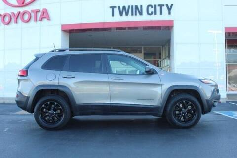 2016 Jeep Cherokee for sale at Twin City Toyota in Herculaneum MO