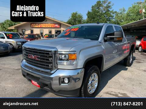 2015 GMC Sierra 2500HD for sale at Alejandro Cars & Trucks in Houston TX