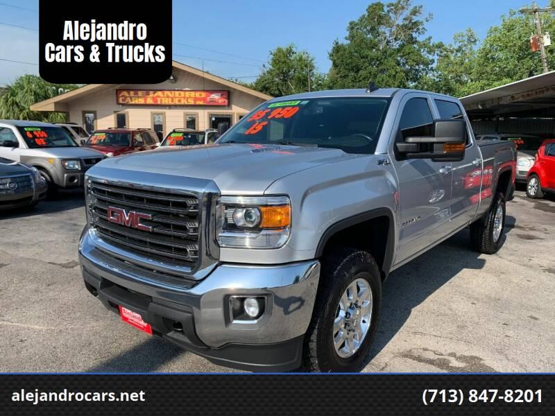 2015 GMC Sierra 2500HD for sale at Alejandro Cars & Trucks Inc in Houston TX