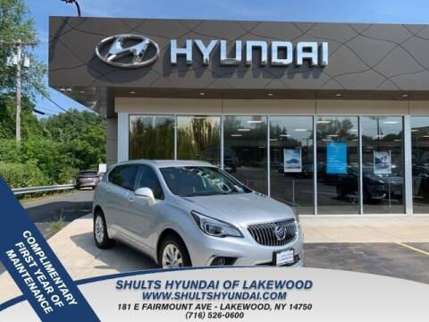 2018 Buick Envision for sale at Shults Hyundai in Lakewood NY
