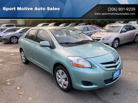 2007 Toyota Yaris for sale at Sport Motive Auto Sales in Seattle WA