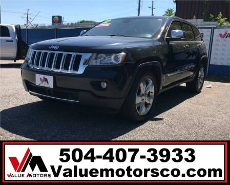 2013 Jeep Grand Cherokee for sale at Value Motors Company in Marrero LA