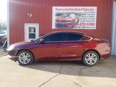 2015 Chrysler 200 for sale at Countryside Auto Body & Sales, Inc in Gary SD