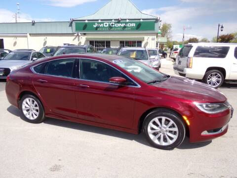 2016 Chrysler 200 for sale at Jim O'Connor Select Auto in Oconomowoc WI