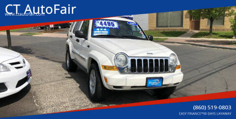 2007 Jeep Liberty for sale at CT AutoFair in West Hartford CT