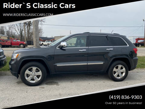 2011 Jeep Grand Cherokee for sale at Rider`s Classic Cars in Millbury OH