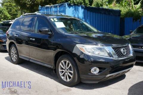 2015 Nissan Pathfinder for sale at Michael's Auto Sales Corp in Hollywood FL