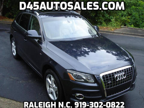 2012 Audi Q5 for sale at D45 Auto Brokers in Raleigh NC