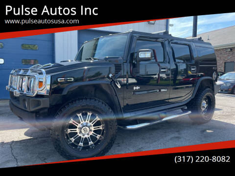2006 HUMMER H2 for sale at Pulse Autos Inc in Indianapolis IN