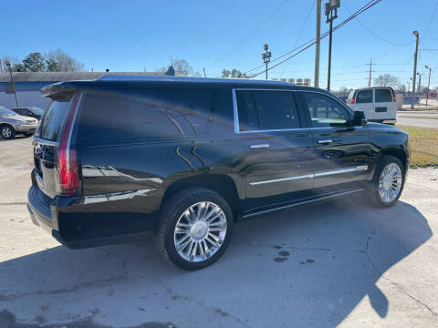 2019 Cadillac Escalade ESV for sale at LAURINBURG AUTO SALES in Laurinburg NC