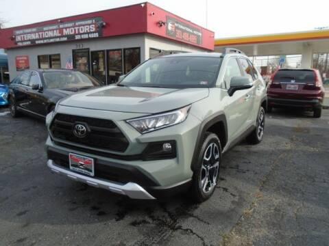 2021 Toyota RAV4 for sale at International Motors in Laurel MD