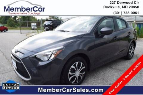 2019 Toyota Yaris for sale at MemberCar in Rockville MD