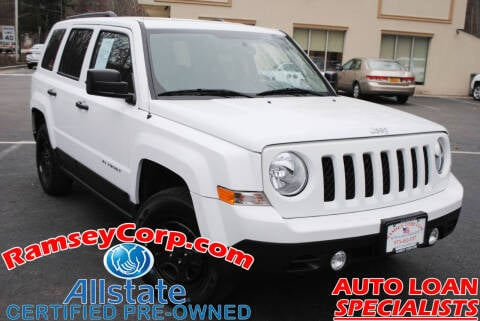 2016 Jeep Patriot for sale at Ramsey Corp. in West Milford NJ