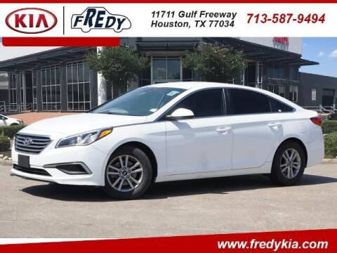2017 Hyundai Sonata for sale at FREDY KIA USED CARS in Houston TX
