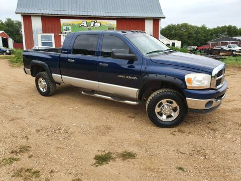 2006 Dodge Ram Pickup 2500 for sale at AJ's Autos in Parker SD