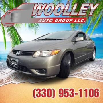 2008 Honda Civic for sale at Woolley Auto Group LLC in Poland OH