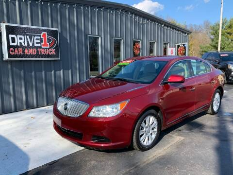 2010 Buick LaCrosse for sale at Drive 1 Car & Truck in Springfield OH