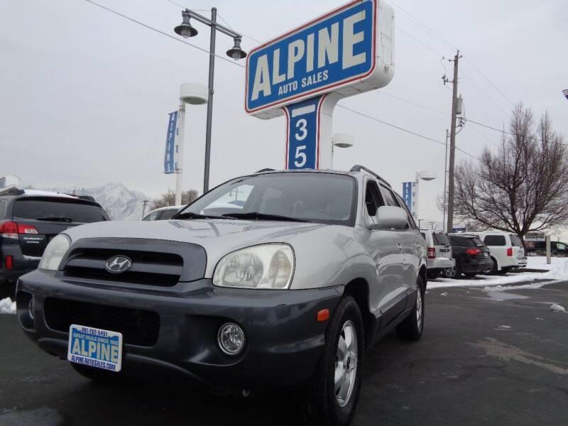 2005 Hyundai Santa Fe for sale at Alpine Auto Sales in Salt Lake City UT