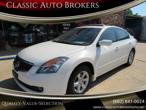 2008 Nissan Altima for sale at Classic Auto Brokers in Haltom City TX