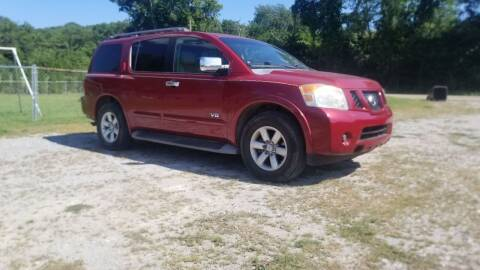 2008 Nissan Armada for sale at Tennessee Valley Wholesale Autos LLC in Huntsville AL