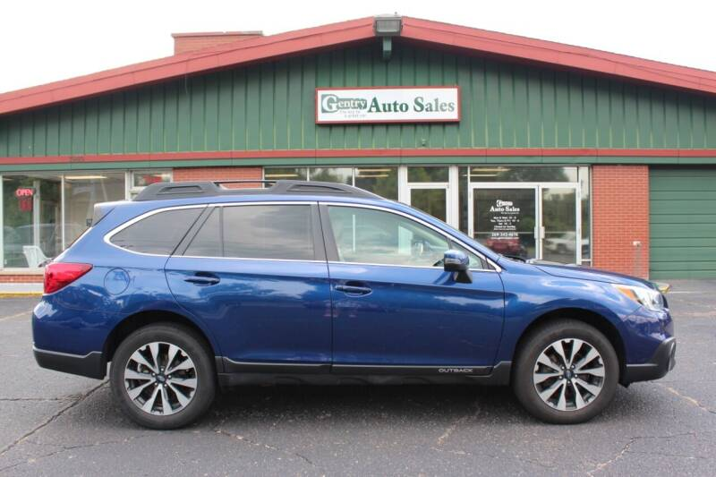 2016 Subaru Outback for sale at Gentry Auto Sales in Portage MI