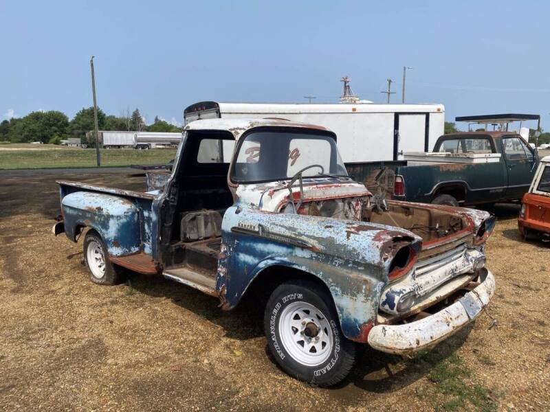 1958 Chevrolet 3100 for sale at B & B Auto Sales in Brookings SD