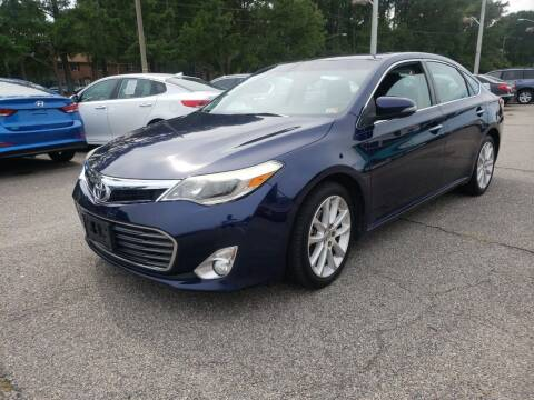 2013 Toyota Avalon for sale at Auto 757 in Norfolk VA