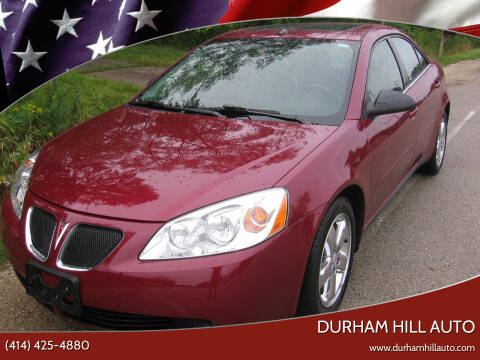 2005 Pontiac G6 for sale at Durham Hill Auto in Muskego WI